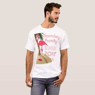 Flamingo Palm Tree Tropical Family Reunion Shirt W