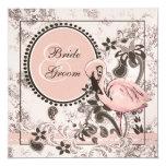 Flamingo Paradise Custom Invitations