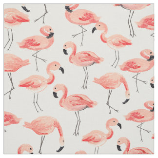 Flamingo Party Fabric