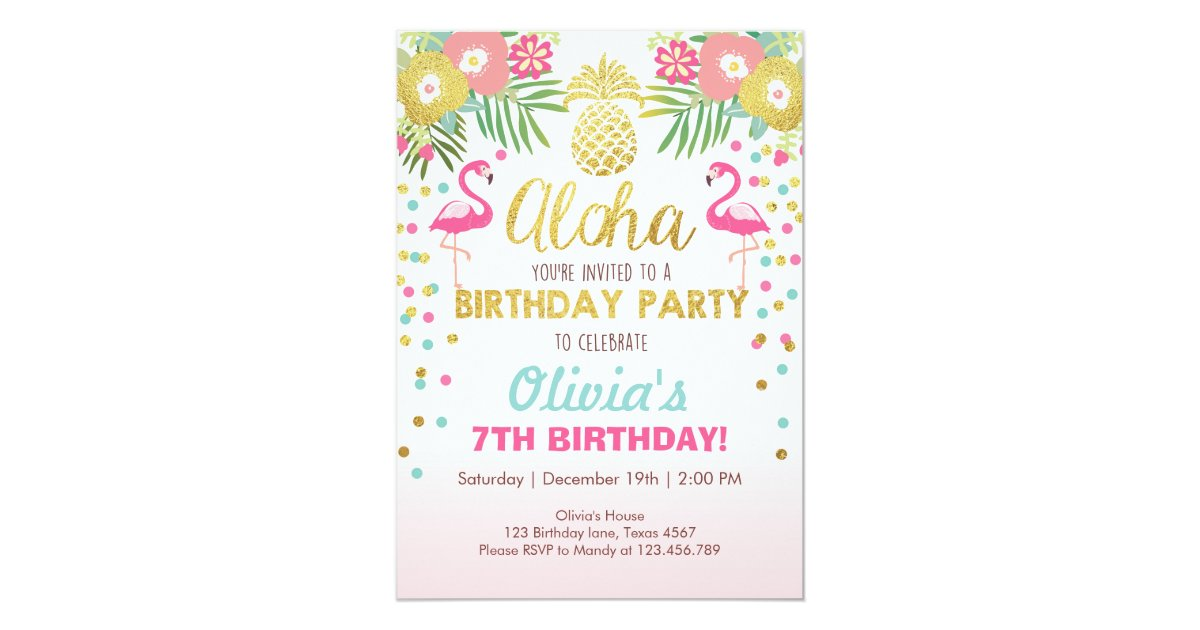 Luau Invitations, 1500+ Luau Announcements & Invites