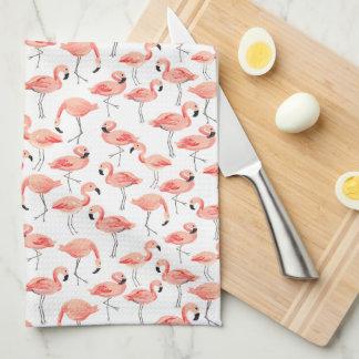 Flamingo Party Kitchen Towel
