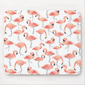 Flamingo Party Mouse Pad