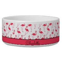 Flamingo Pattern Bowl