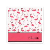 Flamingo Pattern Napkin