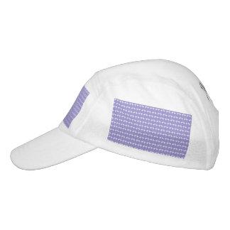 Flamingo Pattern on Purple Headsweats Hat