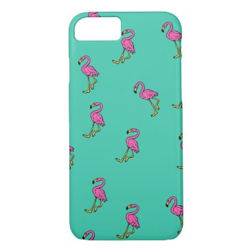 Beach Themed Flamingo Pattern Phone Case