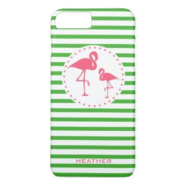 Beach Themed Flamingo Phone Case