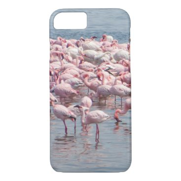 Beach Themed Flamingo phone case