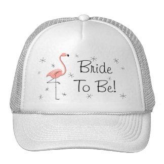 Flamingo Pink 'Bride To Be!' Trucker hat
