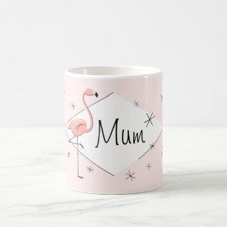 Flamingo Pink Diamond Mum mug