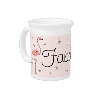 Flamingo Pink Fabulous! pitcher