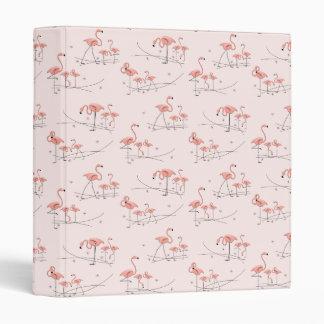 Flamingo Pink Multi ring binder