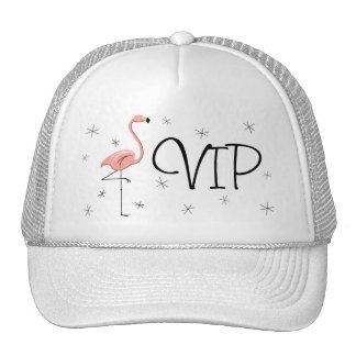 Flamingo Pink 'VIP' Trucker hat