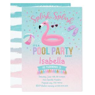 flamingo invitations zazzle
