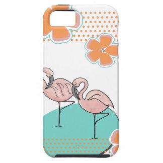 Flamingo Poolside iPhone SE/5/5s Case