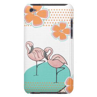Flamingo Poolside iPod Case-Mate Case