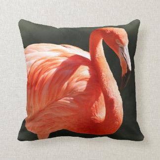 Flamingo Portrait Pillow
