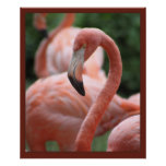 Flamingo Pose Print