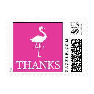 Flamingo Postage Stamp (Thanks Raspberry)