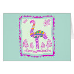 Flamingo Quilt Card