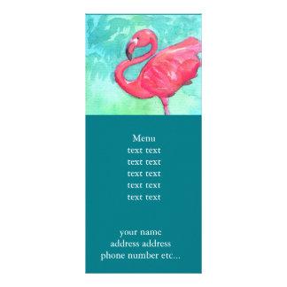 Flamingo Rackcard Rack Card