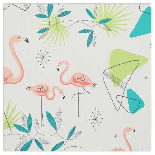 Flamingo-rama fabric
