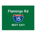 Flamingo Rd Post Card