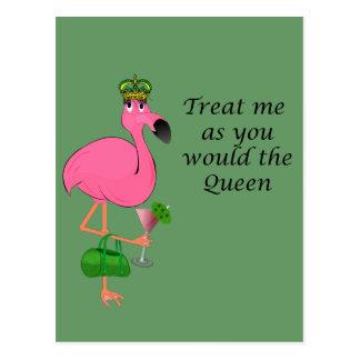Flamingo Recipe Card