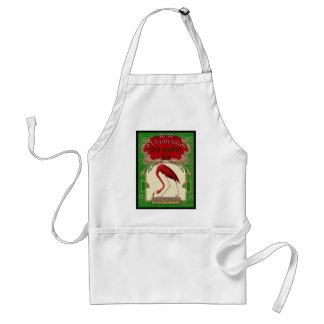 Flamingo Red Amber Ale Adult Apron