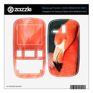 Flamingo Samsung Freeform SCH-R350 SCH-R351 Skin Samsung Freeform Skins