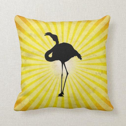 Flamingo Silhouette Pillows