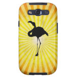 Flamingo Silhouette Samsung Galaxy S3 Covers