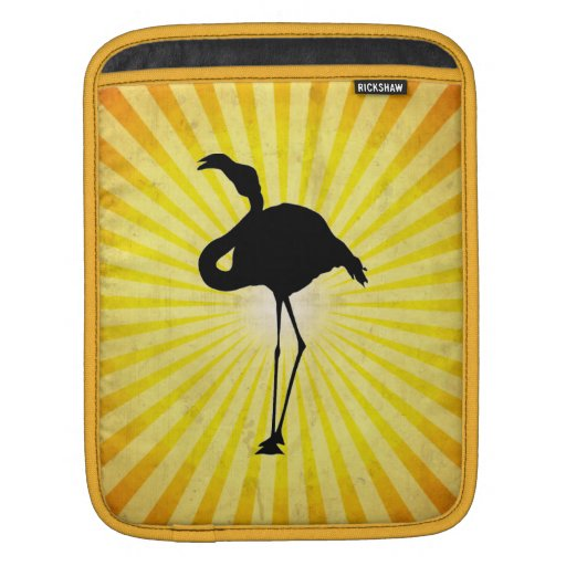 Flamingo Silhouette Sleeves For iPads