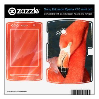 Flamingo Sony Ericsson Xperia X10 mini pro Skin