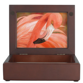 Flamingo - Spirit Of Balance Art Keepsake Box