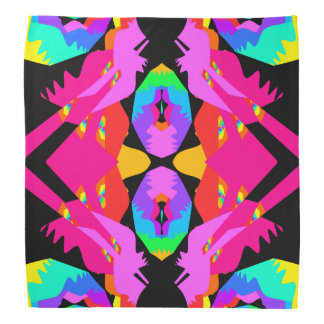 Flamingo Splash Bandana