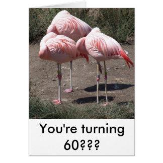 Flamingo Stationery Note Card