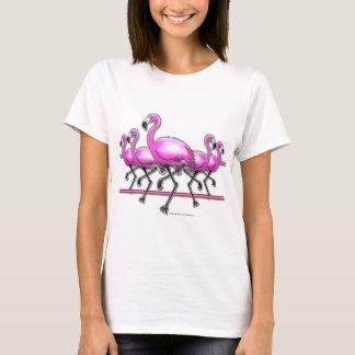 Flamingo Strip T-Shirt