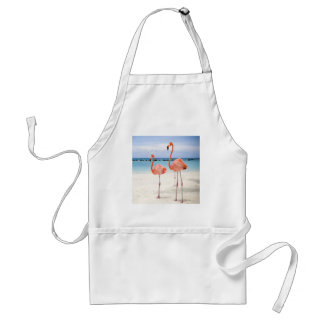 Flamingo Stroll Aprons