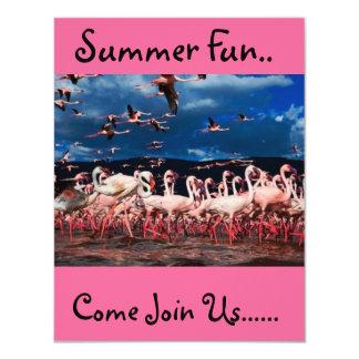 Flamingo Style Card