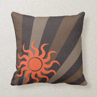 Flamingo Sun Throw Pillows