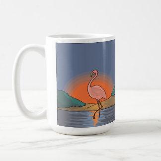 Flamingo Sunset Painting Mug Coffee Mug