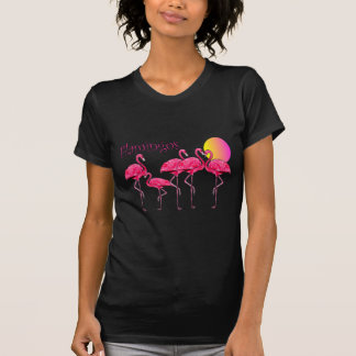 Flamingo Tango at Sunset--T-Shirts & Gifts