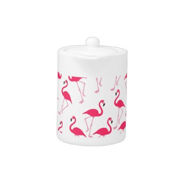 Beach Themed Flamingo Teapot