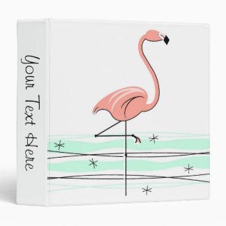 Flamingo 'Text' ring binder