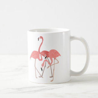 Flamingo Trio Coffee Mug