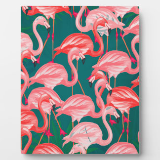 flamingo tropic plaque