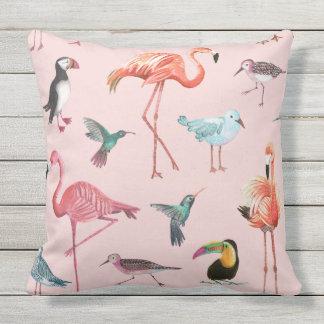 Flamingo Tropical outdoor | Pillow