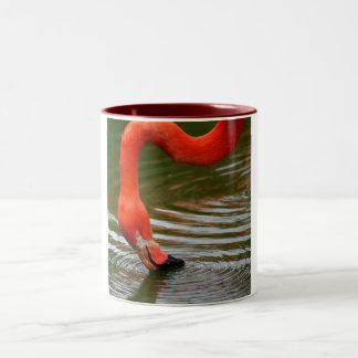 Flamingo Two-Tone Coffee Mug