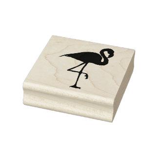 Flamingo - wood stamp